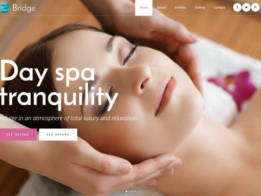 Сайт спа салона