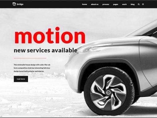 Сайт автосервиса-автосалона