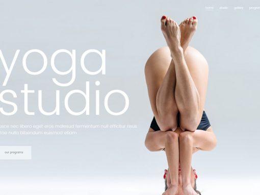 Сайт йога салона